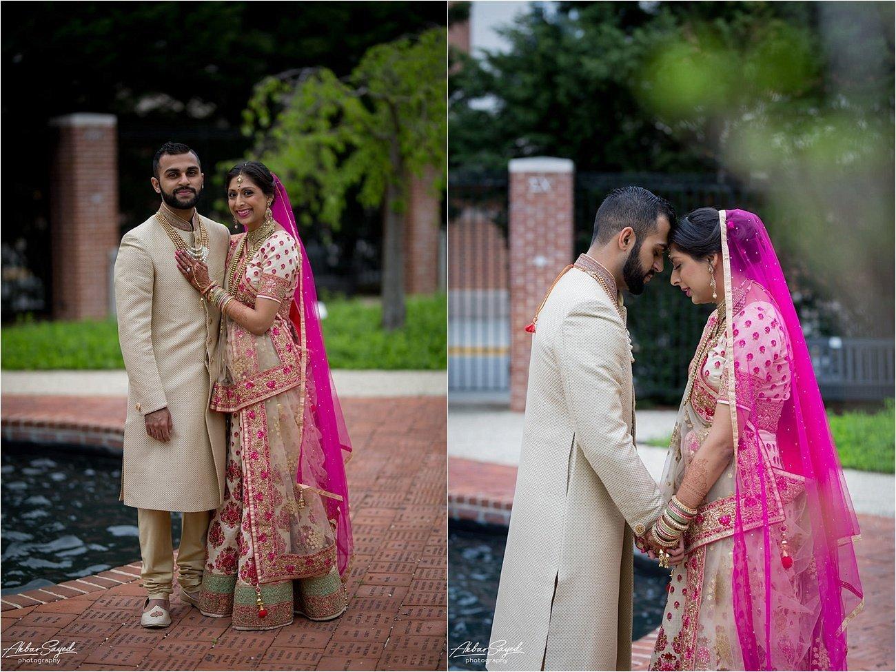 Samuel Riggs Center Maryland Wedding Akbar Sayed Photography