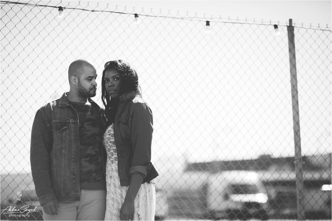 Union Market Washington DC Engagement Akbar Sayed Photography